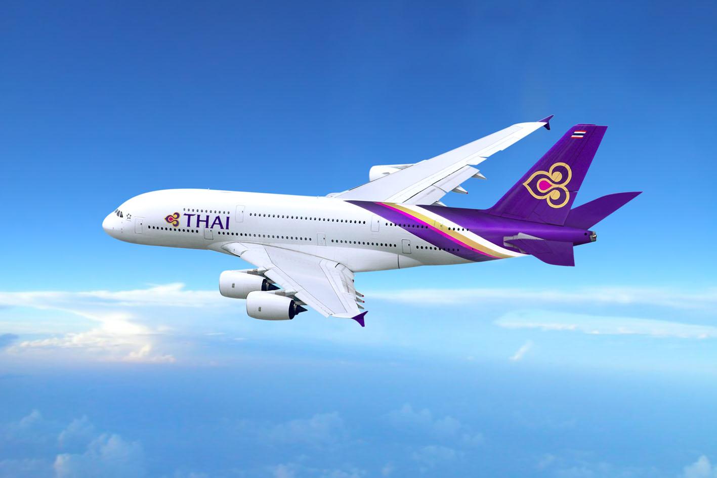 THAI AIRWAYS: FORTI INVESTIMENTI SULLA FLOTTA