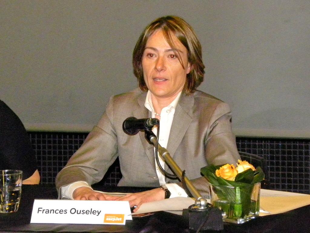 Carolyn McCall, CEO di Easyjet