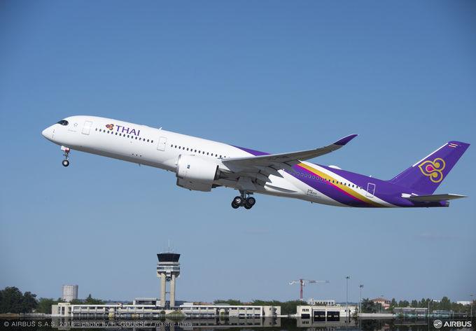 THAI AIRWAYS INTERNATIONAL DIVENTA NUOVO OPERATORE DELL'A350 XWB