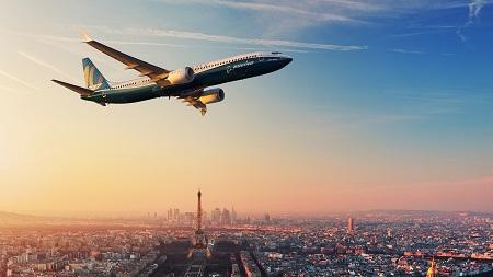 BOEING LANCIA IL 737 MAX 10 AL PARIS AIR SHOW 2017