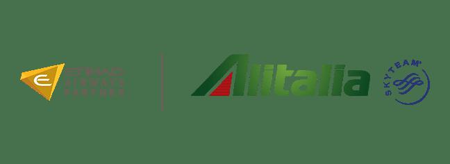Alitalia-Etihad partner Logo