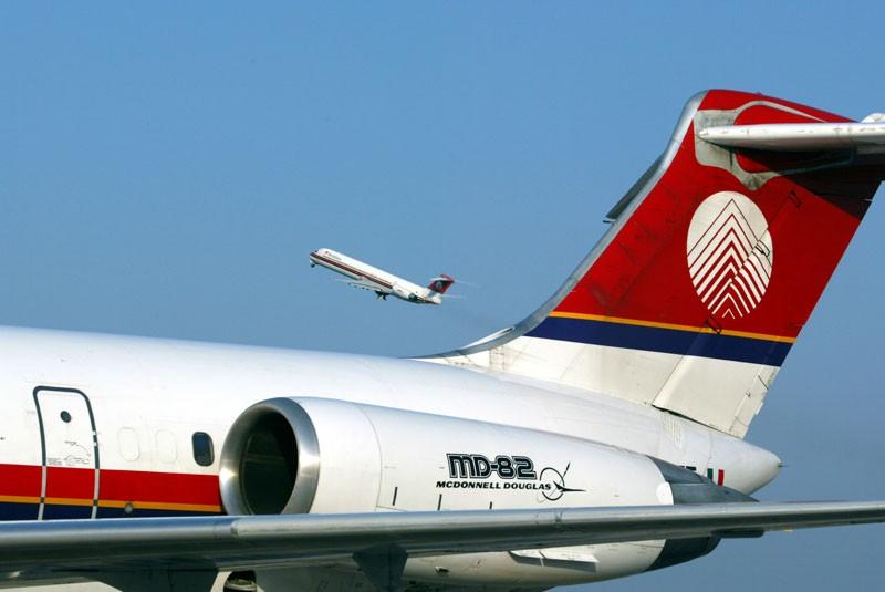 MERIDIANA: L'MD-80 EFFETTUA L'ULTIMA ROTAZIONE PROGRAMMATA IL 31 OTTOBRE 2017