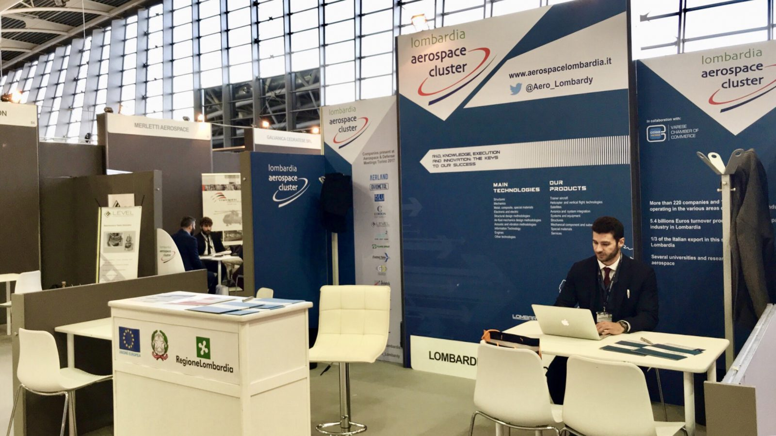 stand Lombardia Aerospace Cluster 2017