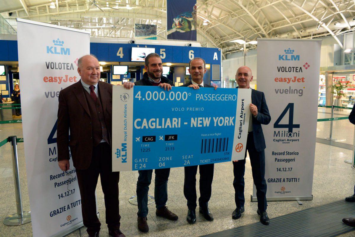 SOGAER 4milioni passeggeri Pinna De Nicola Scanu Crognaletti
