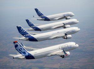 Airbus formation flight