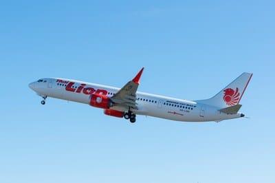 737 MAX 9 Lion Air