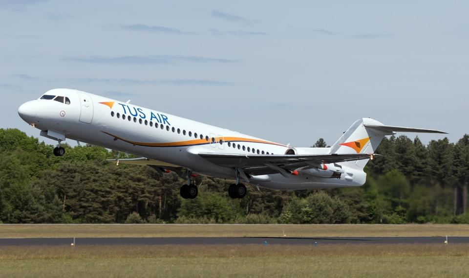Fokker100 TUS