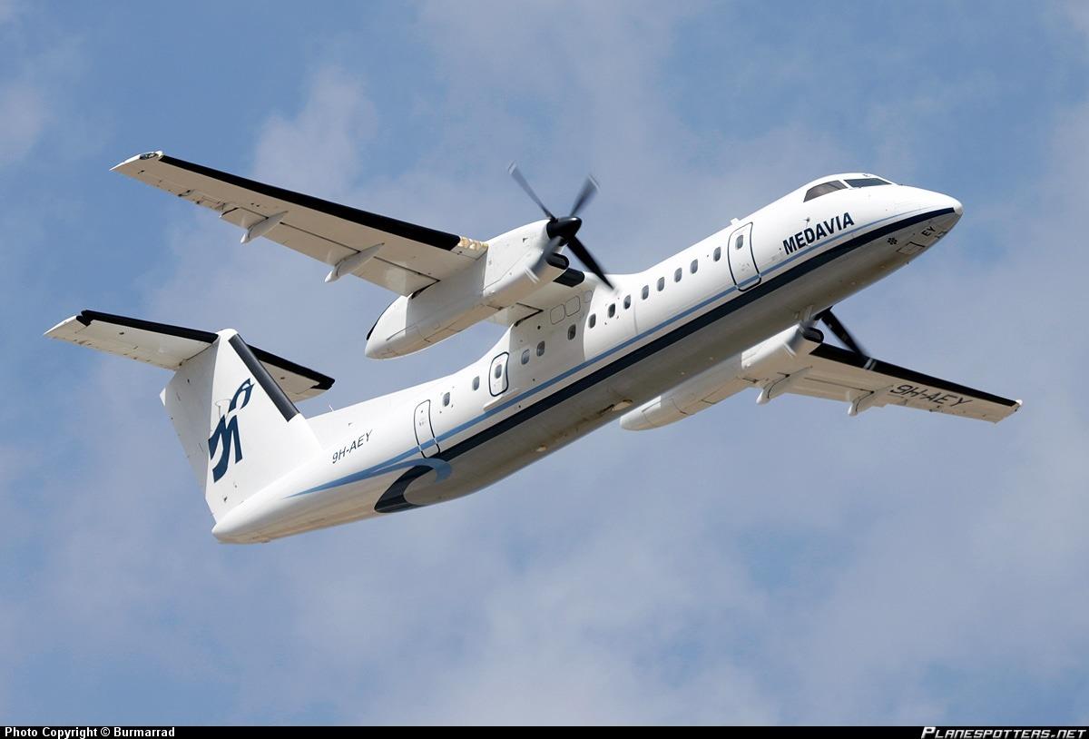 AliBlue Malta Medavia Dash 8-300