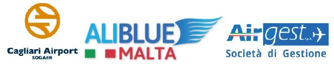 Sogaer + Aliblue + Airgest logo