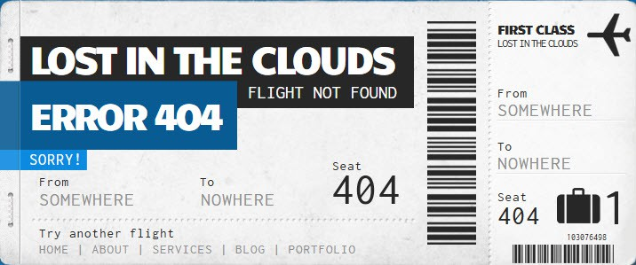 404 boarding pass