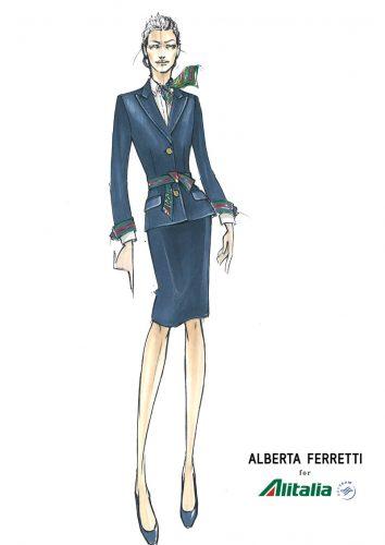 AlbertaFerretti Alitalia Donna