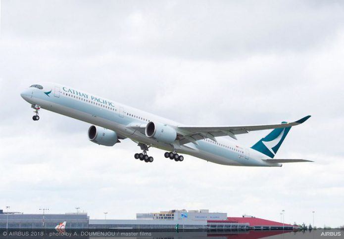 A350 1000 Cathay Pacific