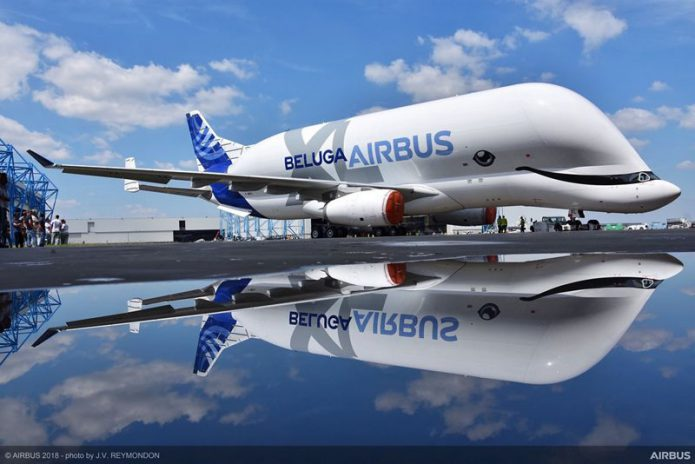 BelugaXL roll out