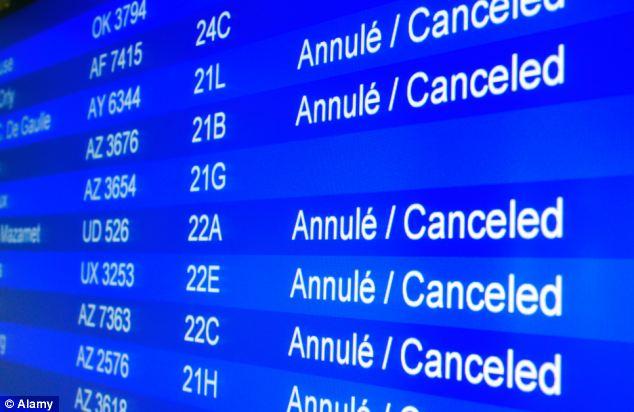 board cancellazioni