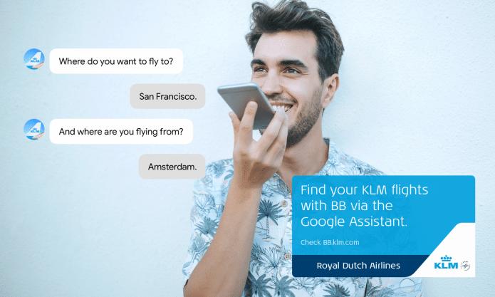 KLM Google Assistant 2018