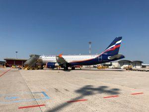 Volo inaugurale Aeroflot 01-07-2018