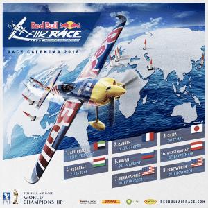 Red Bull Air Race - calendario completo 2018