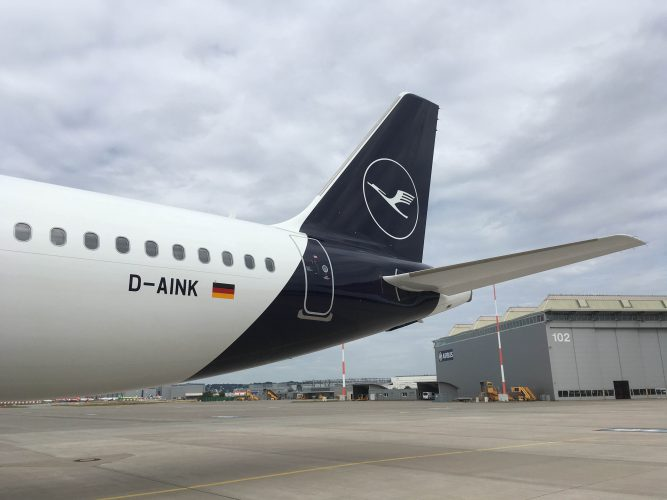 A320neo LH New Livery