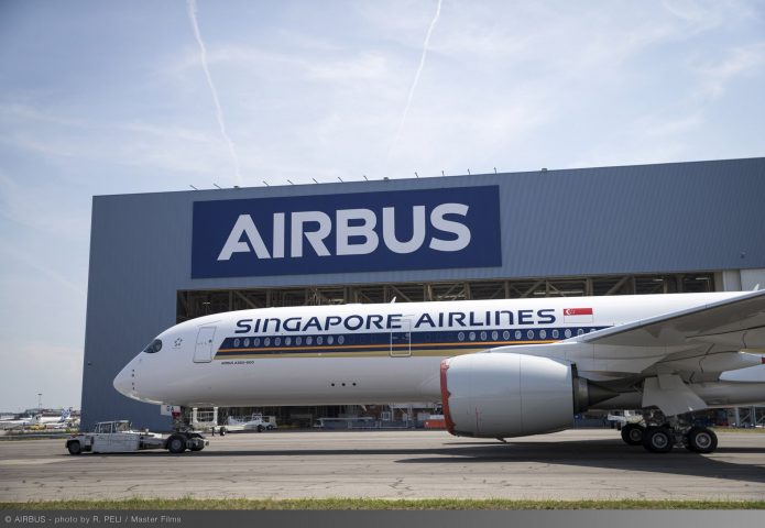 A350 XWB Ultra Long Range Singapore Airlines