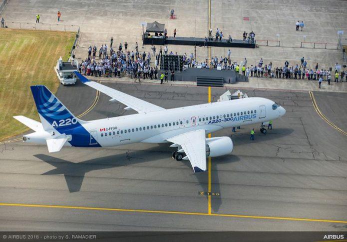 Airbus A220 300 1