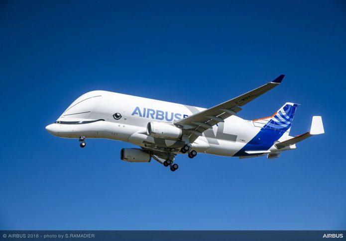 BelugaXL First Flight Air To Air 025