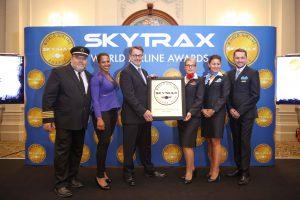Skytrax Airline Awards Air Transat Crew