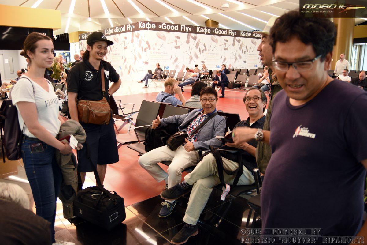 Japanese media/friends @Moscow Sheremetyevo - SU - 23-08-2018