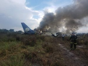 Aeromexico XA-GAL incidente E190