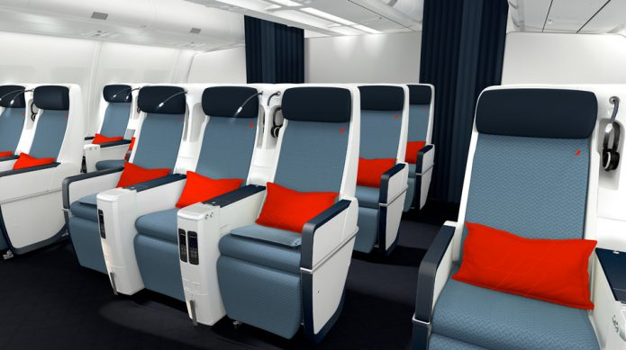 AIR FRANCE Premium Economy Cabin
