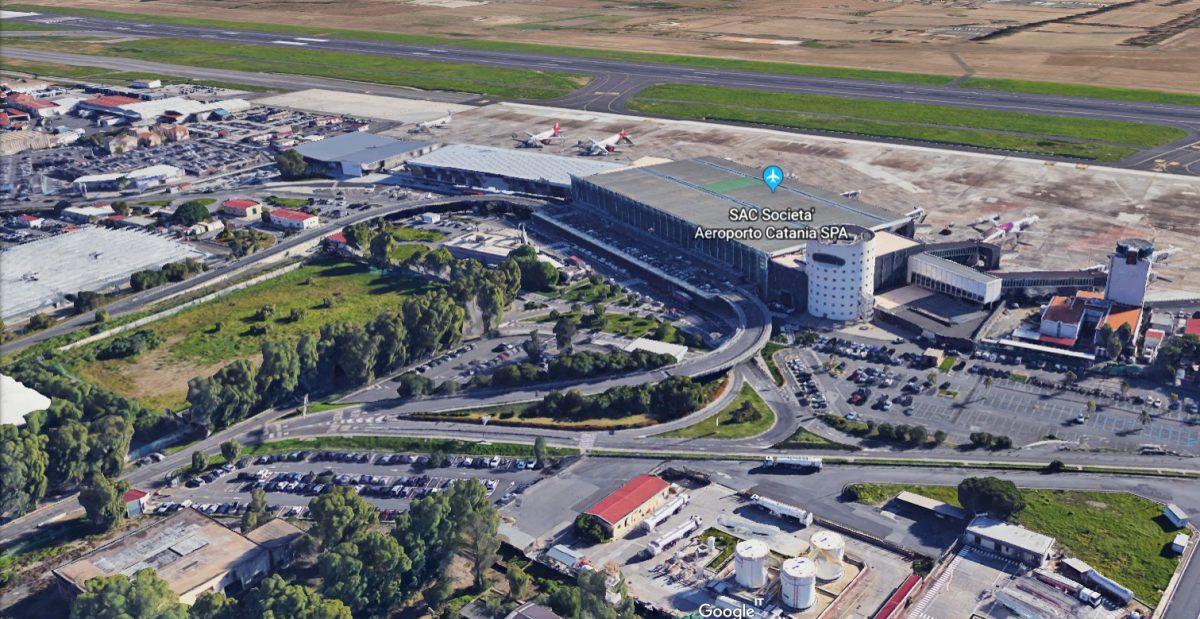 Aeroporto di Catania by Google Earth