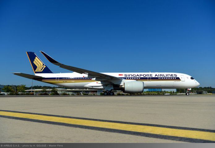 Airbus delivers first UltraLongRange A350 XWB