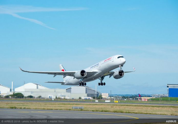A350 900 China Eastern MSN248 take off