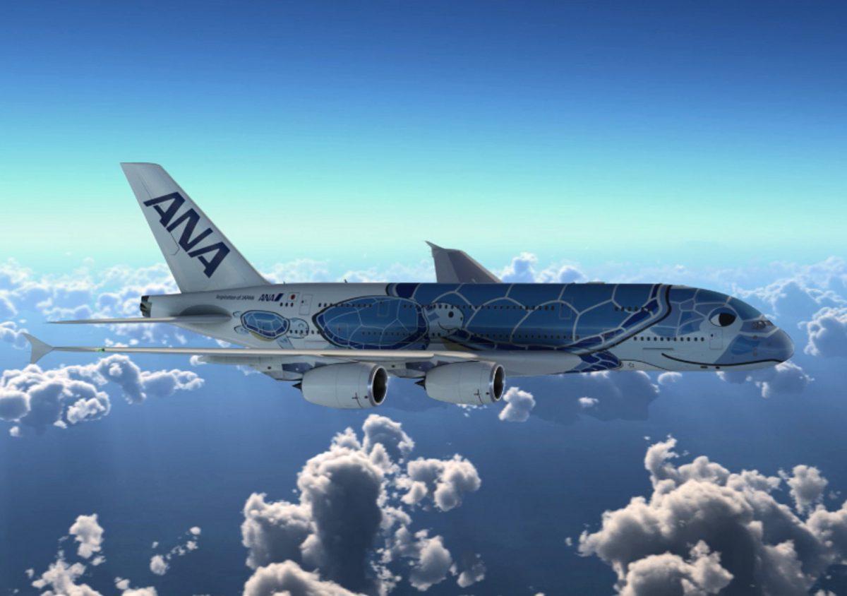 A380 ANA special livery