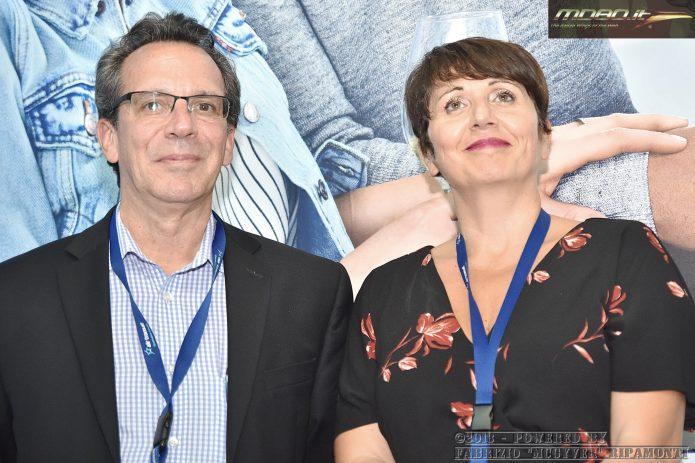 Gilles Martin e Tiziana Della Serra - Air Transat