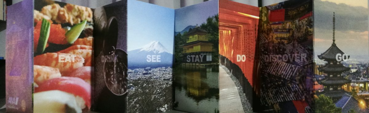 pieghevole We are Japan - ANA - TTG 2018