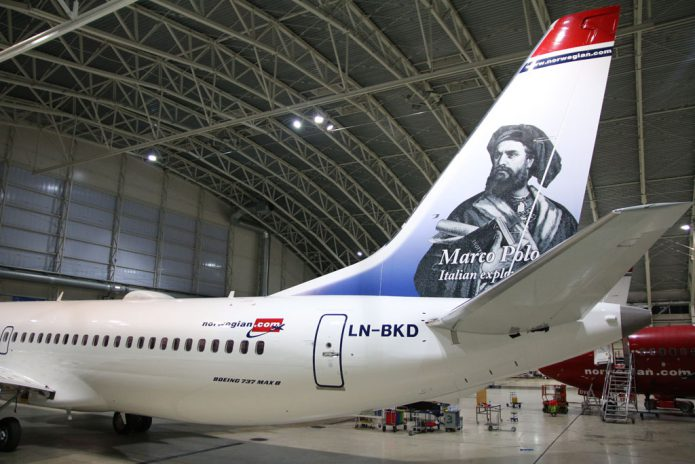 Norwegian 737 MAX Marco Polo