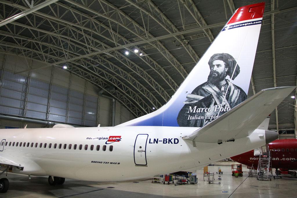 Norwegian 737 MAX Marco Polo