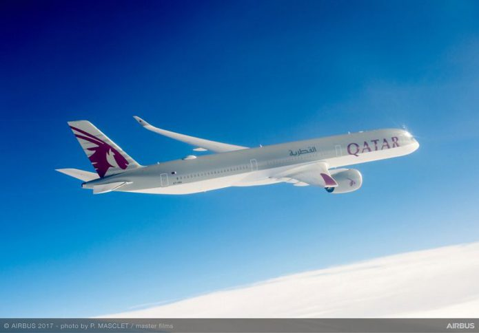 Qatar Airways A350 1000 launch operator 2
