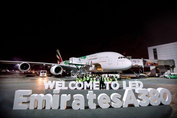San Pietroburgo Emirates A380