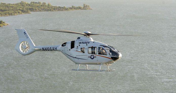 h135 19V2 em usa navy