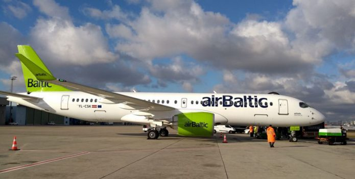 A220 300 airBaltic DemoTour