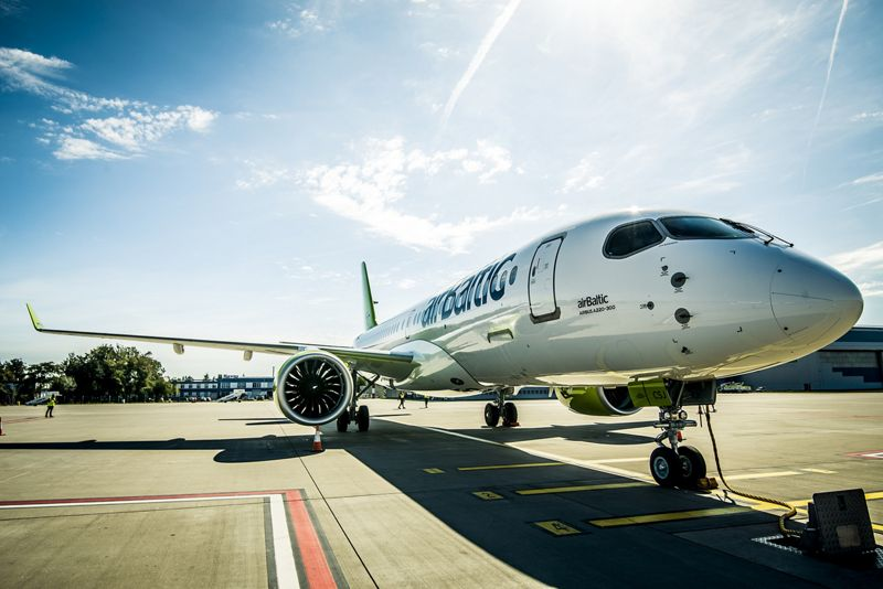 A220 300 demo tour airBaltic 1