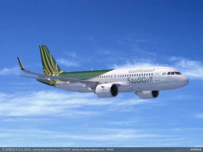 A320neo SaudiGulf Airlines