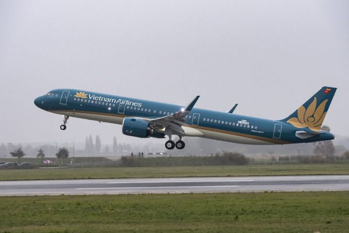 A321neo Vietnam Airlines TakeOff