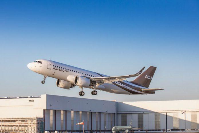 ACJ320neo 1st flight 16 Nov 18