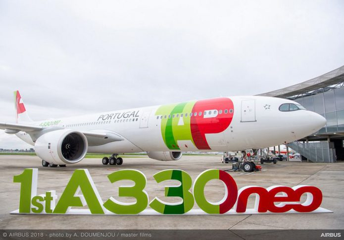 first A330 900 TAP Air Portugal MSN1836 delivery 002