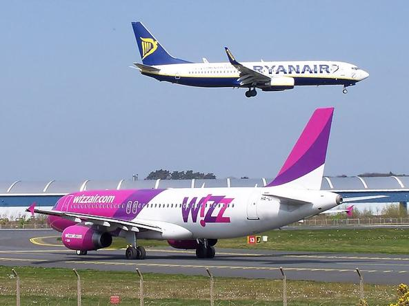 Wizz Air Rayanair |- credit: @Corriere Web
