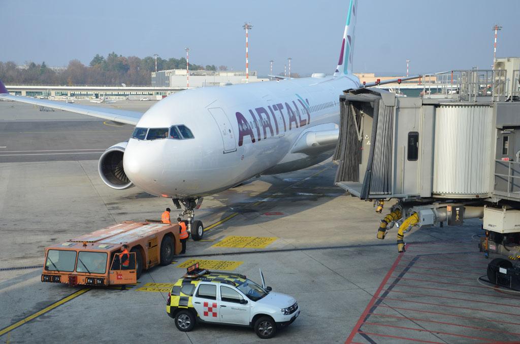 Air Italy MXP DEL 2