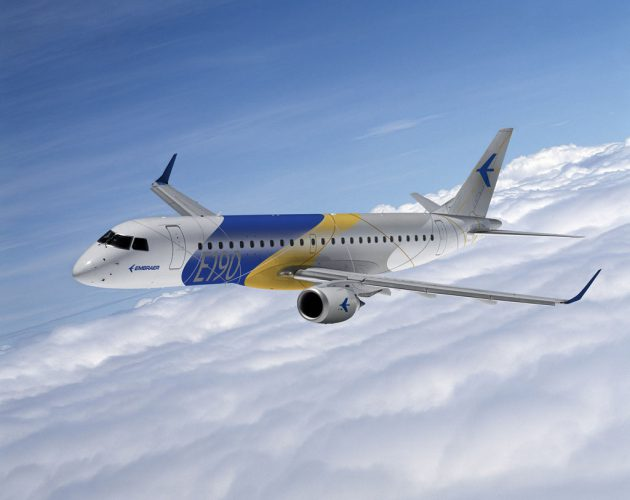 E190 CORPORATE LIVERY FLYING
