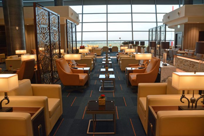 Emirates Lounge Roma
